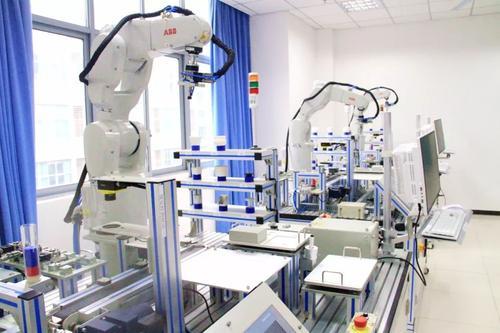工业机器人实训室简介